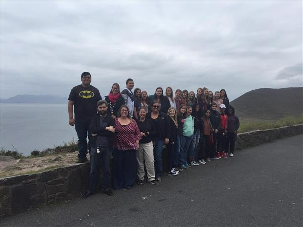 Group shot at Ring of Kerry, Ireland