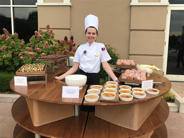 Where Are They Now: PRHS graduate Hallie Gaskill serves up success as luxury hotel's pastry chef