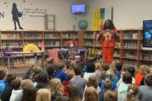 Second Graders Study African Culture