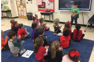 Rea View Students Learn French Through Song