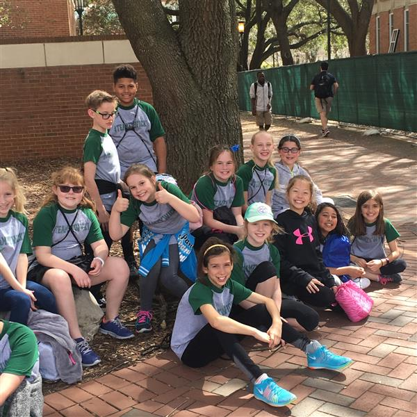 Fourth Grade Students Visit UNCC