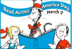 Monday, March 2 Read Across America Day
