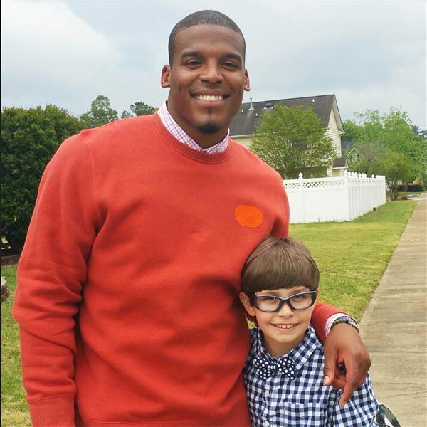Poplin student and Cam Newton go all in on new TV show