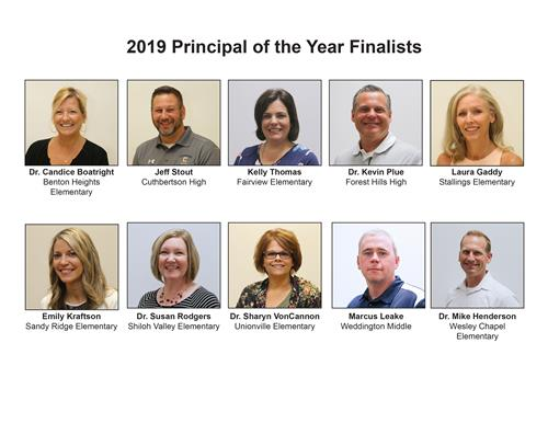 Principal of the Year Finalists