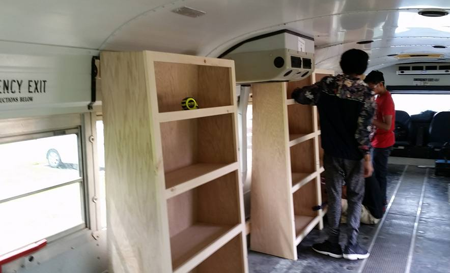New UCPS Mobile Book Bus rolls into communities this summer