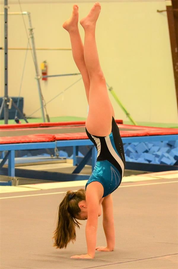 Rising ninth grade gymnast flips and tumbles her way into history at Special Olympics USA
