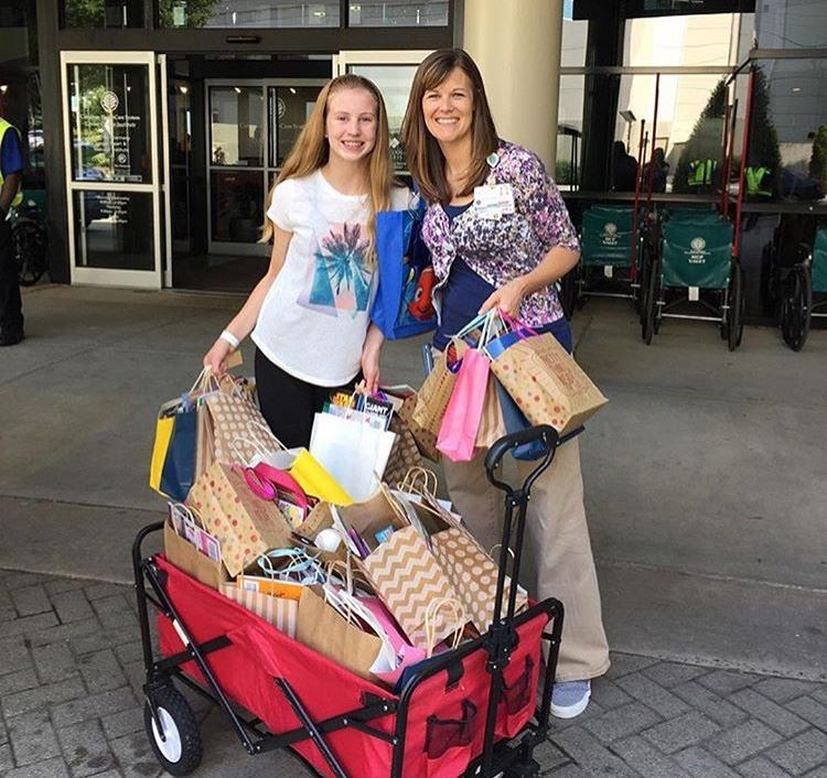 #UCPSGivesBack: After overcoming rare blood disorder, PRHS sophomore donates gift bags to children's hospital