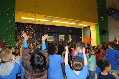 Rocky River Elementary earns Leader in Me Lighthouse Status
