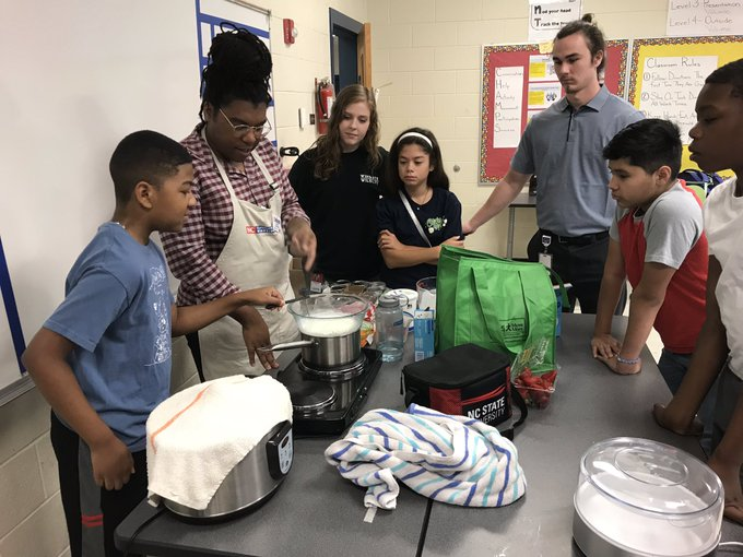 Back to School: East Union Middle rising sixth graders make connections with the state's largest industry