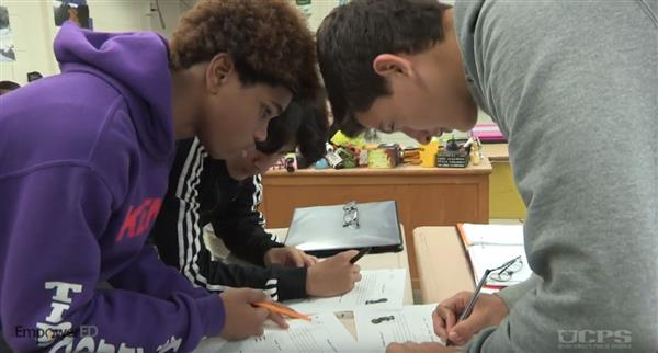 Spotlight on EmpowerED: Forest Hills High teacher's collaborative class environment leads to effective learning