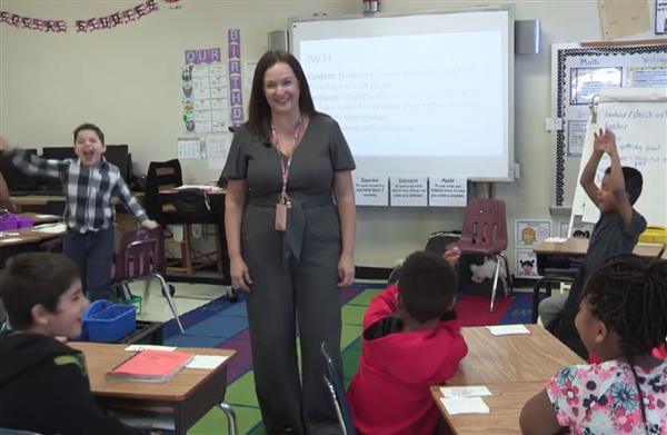 Spotlight on EmpowerED: Marshville Elementary teacher encourages collaboration during real-world lesson on budgeting