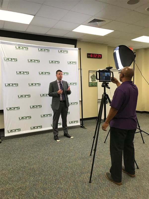 Connect and Chat Facebook Live session helps UCPS families prepare for the new school year