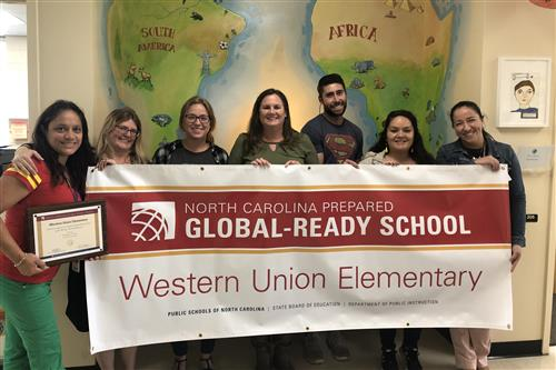 Western Union Elementary earns state recognition for global education