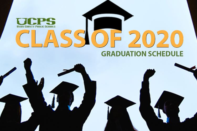 UCPS Class of 2020 graduation schedule and Frequently Asked Questions