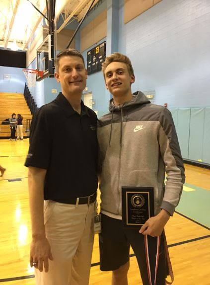 #UCPSGrads: With his dad by his side, Piedmont High senior succeeds both on and off the court