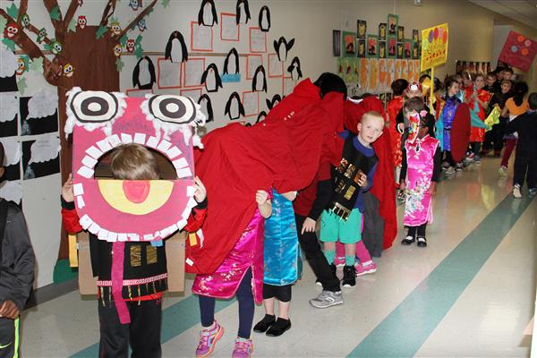 Photo Gallery: Marvin Elementary holds Chinese New Year parade