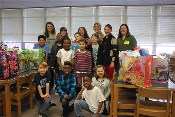 #UCPSGivesBack: Book donations pour in for Take Home Library Project at Marshville Elementary