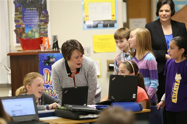 Photo Gallery: NC legislators and candidates spend time in UCPS classrooms