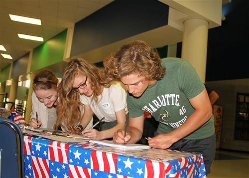 UCPS seniors register today to vote for tomorrow's leaders