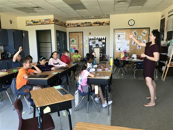 First group of Spanish immersion students prepare to make history again