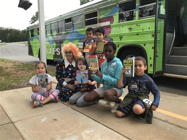 Beep, beep: The UCPS Mobile Book Bus is back!