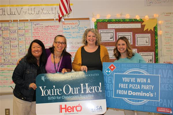 Rea View Elementary teacher named Hometown Hero