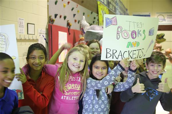 It's that time again: Books and Brackets is back!