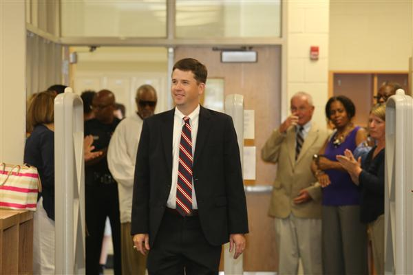 Photo Gallery:  UCPS welcomes our new Superintendent, Dr. Andrew Houlihan