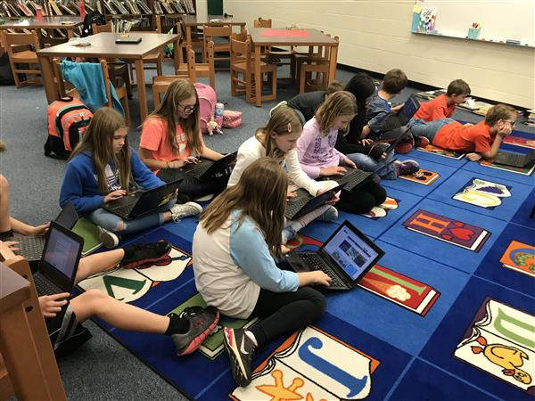 UCPS students hone critical thinking and coding skills in cluster-wide coding clubs