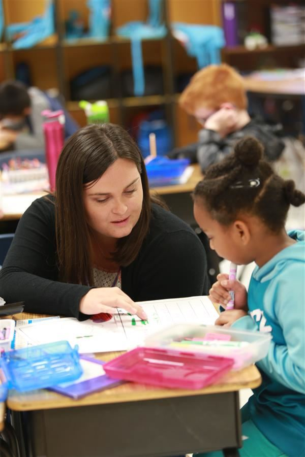 Former UCPS Teacher Cadet returns to her former classroom. This time, as a teacher.