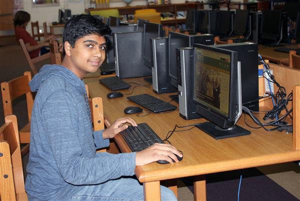 Marvin Ridge High freshman uses technology to make an impact in his community