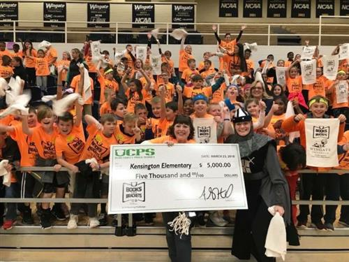 #UCPSBooksandBrackets: Kensington Elementary is the Books and Brackets Champion
