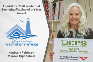 Kimberly Robinson named a finalist for NC Beginning Teacher of the Year Award
