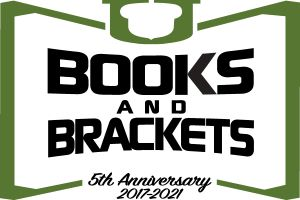 Books and Brackets logo
