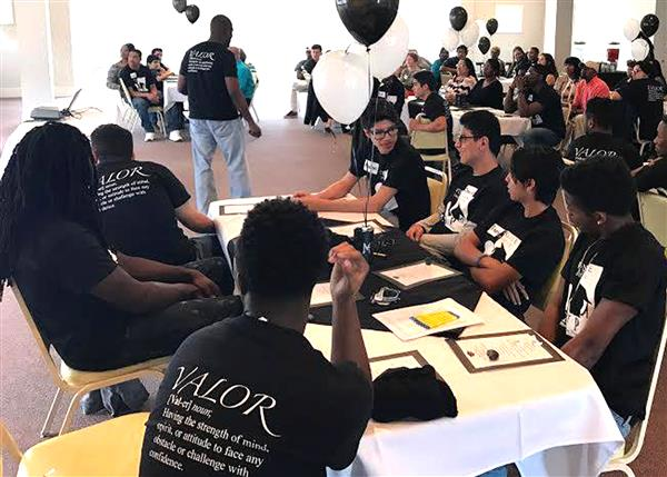 28 UCPS students graduate as Men of Valor