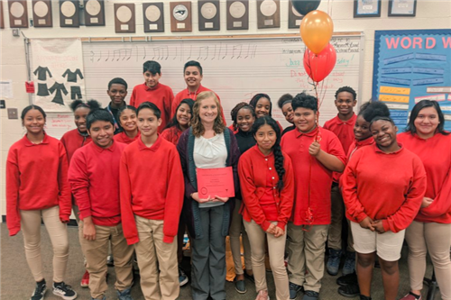 HSA at Monroe Middle band program receives $3,000 grant