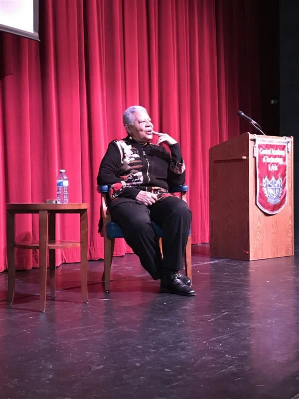 Civil rights legend Minnijean Brown-Trickey shares Little Rock Nine experiences with CATA students
