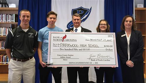Parkwood High junior is named Student Athlete of the Month