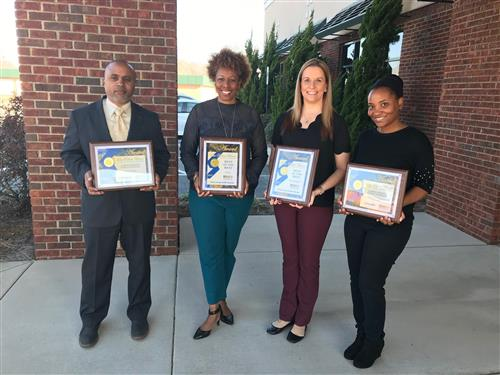 UCPS Communications Team wins 22 state awards for effective school communications and public relations