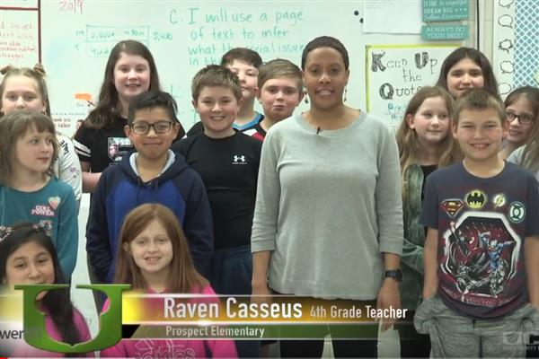 Spotlight on EmpowerED: Prospect Elementary teacher's classroom environment encourages collaboration and discussion