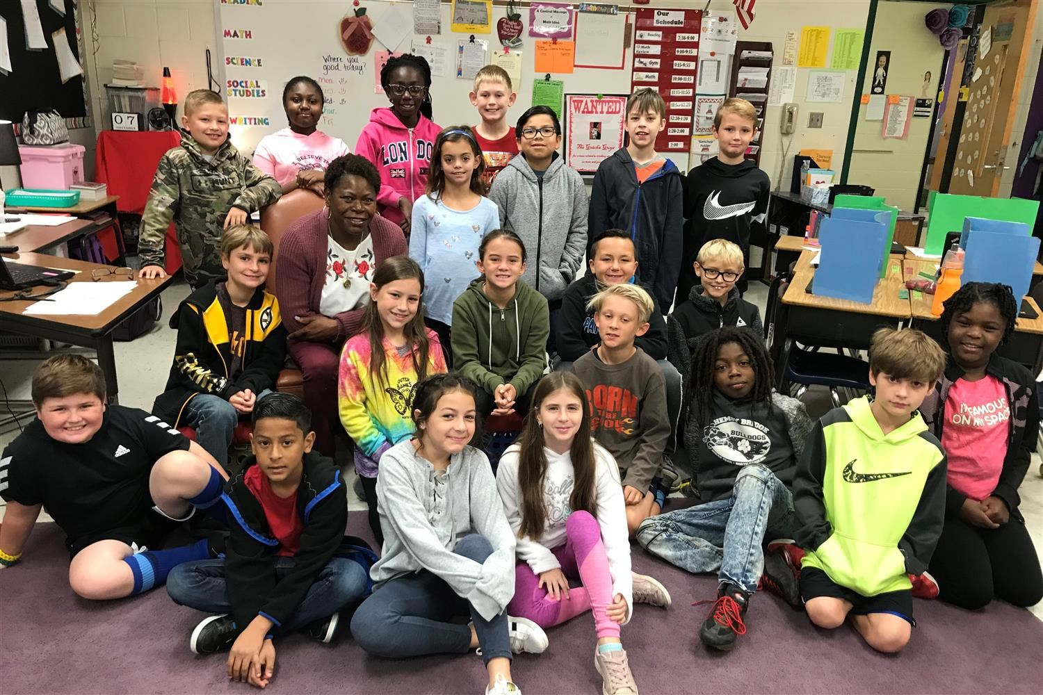 Military veteran continues life of service as a Hemby Bridge Elementary teacher