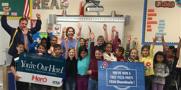 October 'Hometown Hero' named at Shiloh Elementary