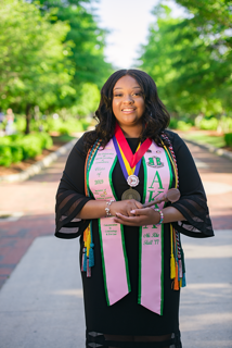 Where Are They Now: CHS graduate Tierra Thompson makes her mark at UNC Greensboro and sets her sights on law school