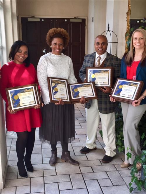 UCPS Communications Team wins 15 state awards for effective school communications and public relations
