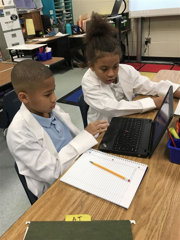 In new school club, Wingate Elementary students lead their own learning