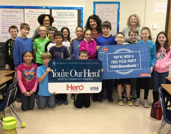 Wesley Chapel Elementary teacher wins January Hometown Hero award