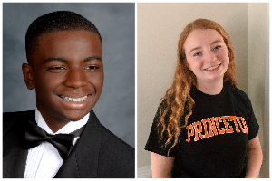 #UCPSGrads: Weddington High senior Avery Kimbrough and Porter Ridge High senior Zoe Evans