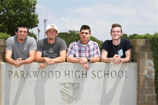 Parkwood graduating twins have identical bonds