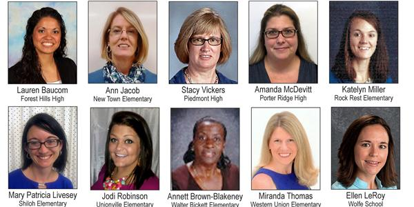 UCPS Teacher of the Year selection down to 10 finalists