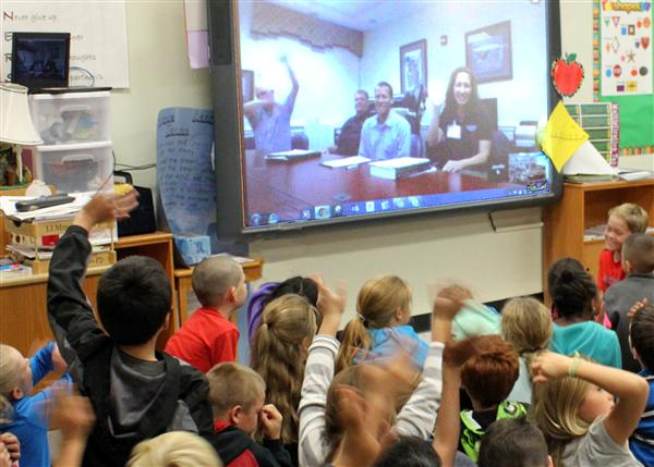 Virtual field trip brings social studies alive for Hemby Bridge third graders